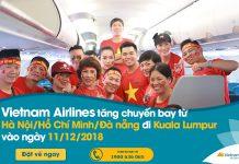Vietnam Airlines cung ứng hơn 1.100 chỗ trên các chuyến bay