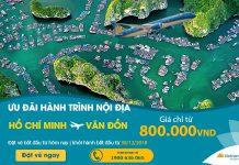 Ưu đãi hành trình nội địa với vé máy bay chỉ 800.000 VNĐ