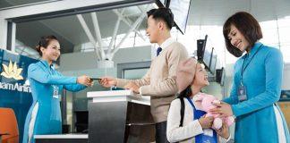Quy định giấy tờ cho trẻ em khi đi máy bay Vietnam Airlines