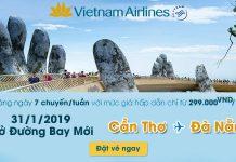 Chỉ 299.000Đ/ chiều mừng đường bay mới Đà Nẵng – Cần Thơ