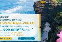 Hành trình mới Hồ Chí Minh – Chu Lai chỉ 299.000 VNĐ