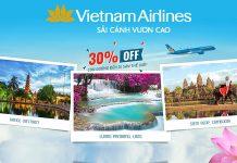 Vietnam Airlines giảm 30% giá vé máy bay khám phá di sản