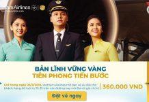 Vietnam Airlines dành tặng vé máy bay chỉ 360.000 VNĐ nhân ngày 26/3