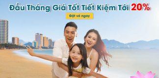 Khuyến mãi giảm 20% giá vé máy bay 5 ngày vàng từ Vietnam Airlines