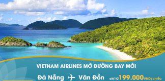Vietnam Airlines mở đường bay mới Đà Nẵng – Vân Đồn