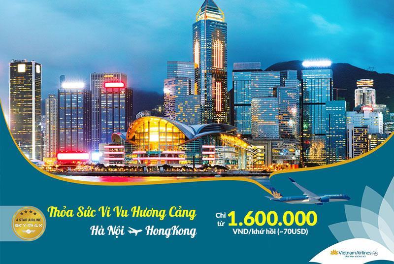Thỏa sức vi vu Hong Kong chỉ từ 1.600.000 VND/ Khứ hồi