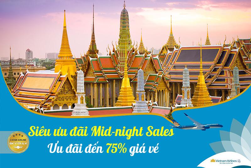 Khuyến mãi Vietnam Airlines giảm đến 75% giá vé máy bay
