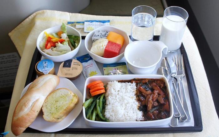 Suất ăn miễn phí của các chặng bay nội địa
