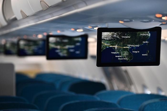 Dịch vụ giải trí không dây trên máy bay Vietnam Airlines