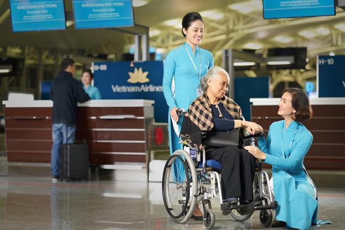 Quy định Vietnam Airlines về xe lăn và các thiết bị hỗ trợ di chuyển
