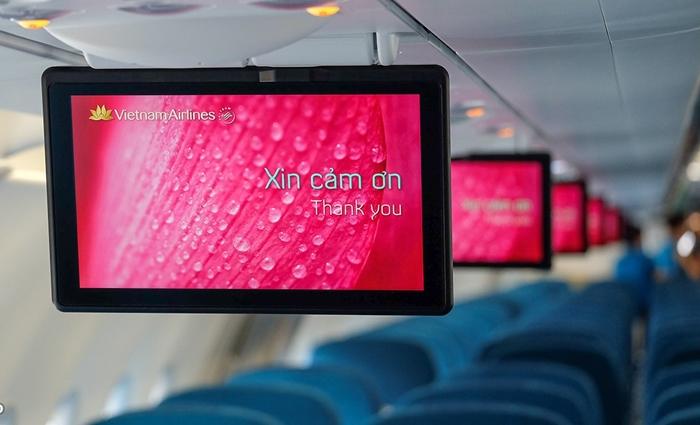 Ưu điểm của dịch vụ giải trí không dây trên máy bay Vietnam Airlines