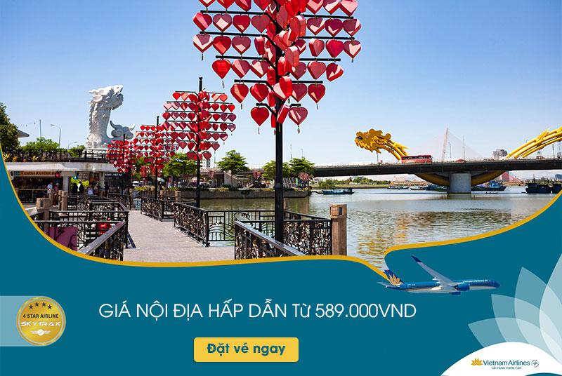 Vietnam Airlines khuyến mãi giá vé nội địa chỉ từ 199.000 VND