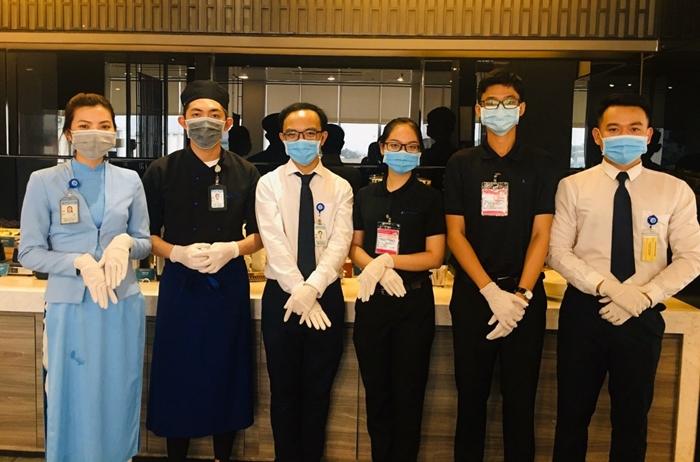 Vietnam Airlines thực hiện các biện pháp hạn chế virus nCov tại mặt đất