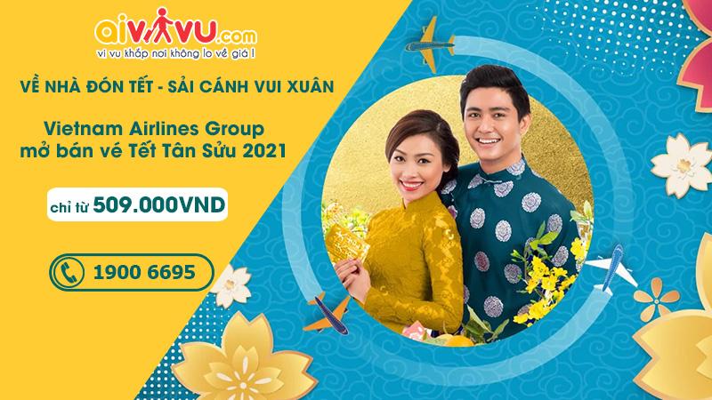 Vietnam Airlines mở bán vé Tết chỉ từ 509.000 VND