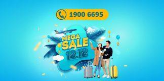 Vietnam Airlines khuyến mãi 12/12 giảm đến 12% giá vé máy bay