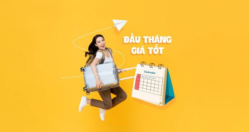 Vietnam Airlines khuyến mãi đầu tháng giá tốt chỉ từ 69.000 VND